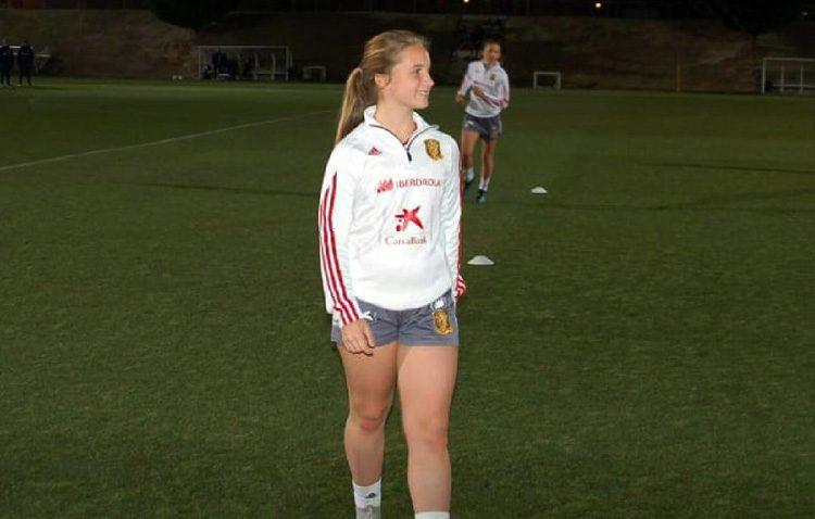 Una joven utrerana, convocada con la selección nacional de fútbol sub-16