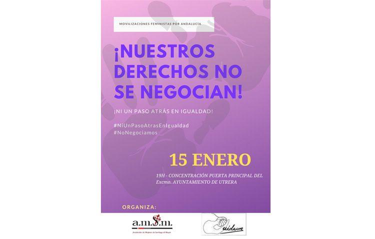 Las asociaciones «Mujeres de Santiago» y «Cuídame» convocan una protesta contra el nuevo gobierno de la Junta