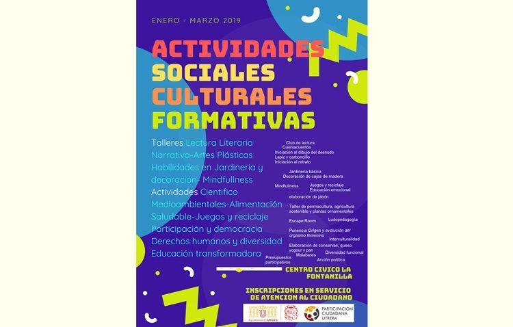 Nuevos talleres gratuitos sobre literatura, mindfullness, alimentación saludable y derechos humanos