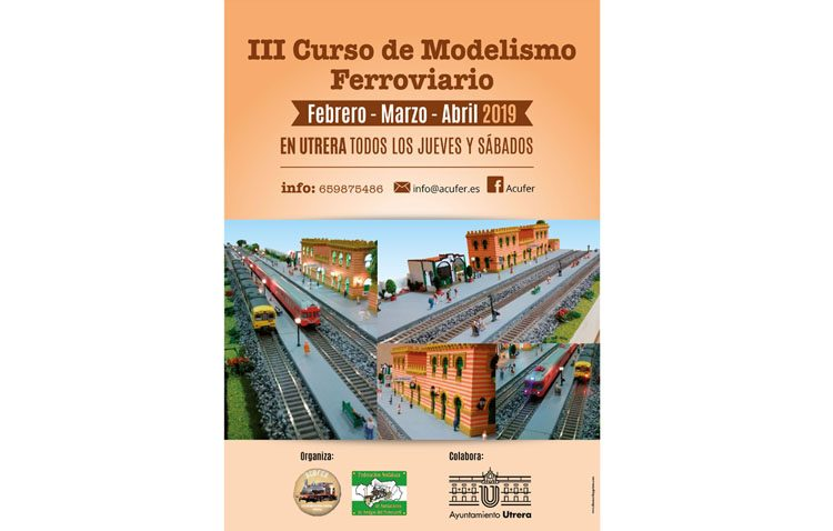 Acufer organiza un curso de modelismo ferroviario