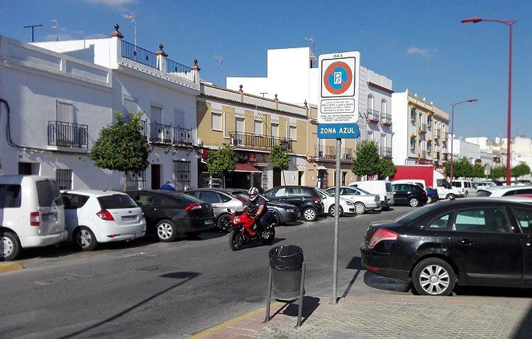 «Juntos por Utrera» en contra de la eliminación de la zona azul en la calle Molares