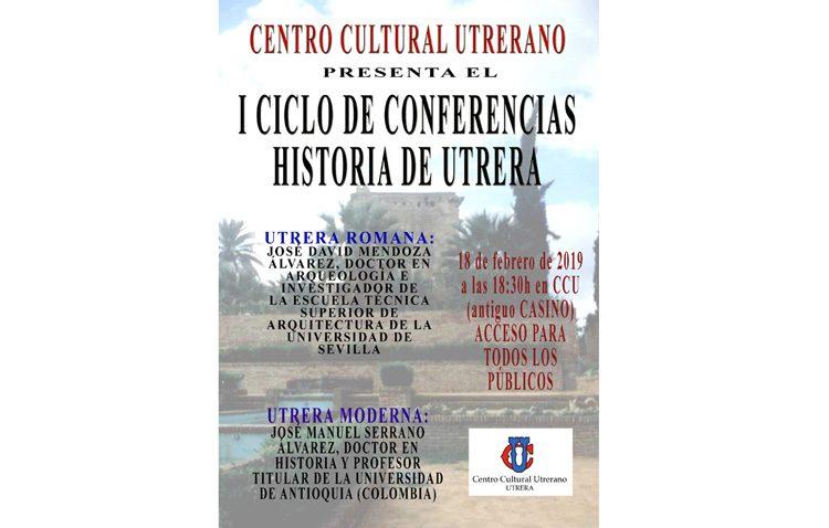 Un ciclo de conferencias sobre la historia de Utrera en el «Casino»