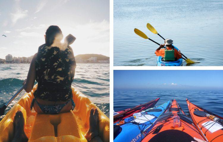 Tipos de Kayaks para diferentes usos