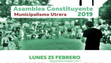 Podemos, Partido Comunista y Equo anuncian una candidatura conjunta para las elecciones municipales en Utrera
