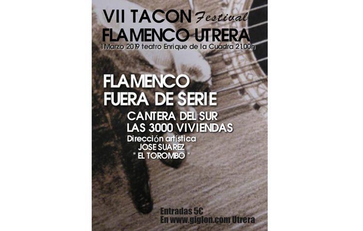 El «Tacón Flamenco» culmina este viernes con el espectáculo «Cantera del Sur – Las 3.000 Viviendas»