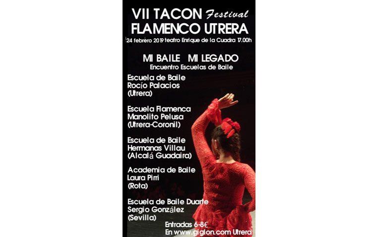 Encuentro de escuelas de baile en el «Tacón Flamenco»