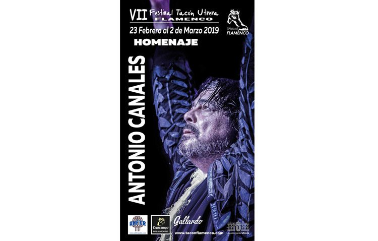Siete espectáculos formarán el «Tacón Flamenco» que homenajeará en Utrera al bailaor Antonio Canales