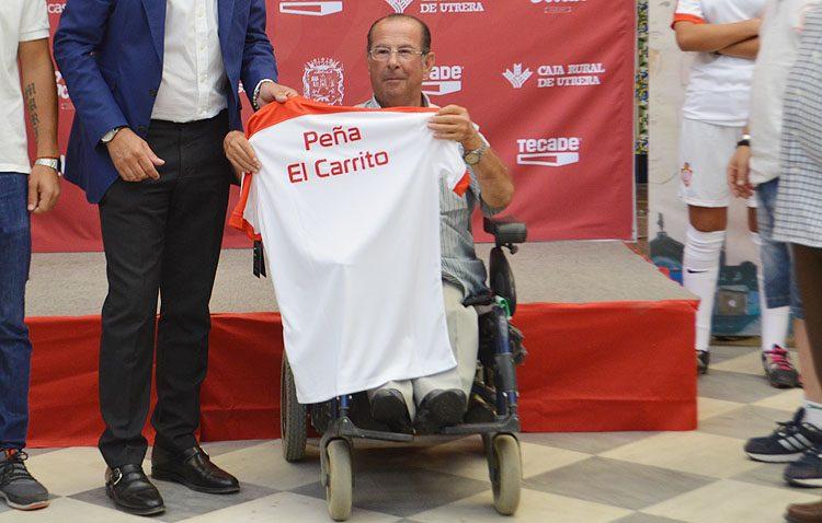 El Club Deportivo Utrera rinde homenaje póstumo a Ángel Martínez Muñoz (IMÁGENES Y VÍDEO)