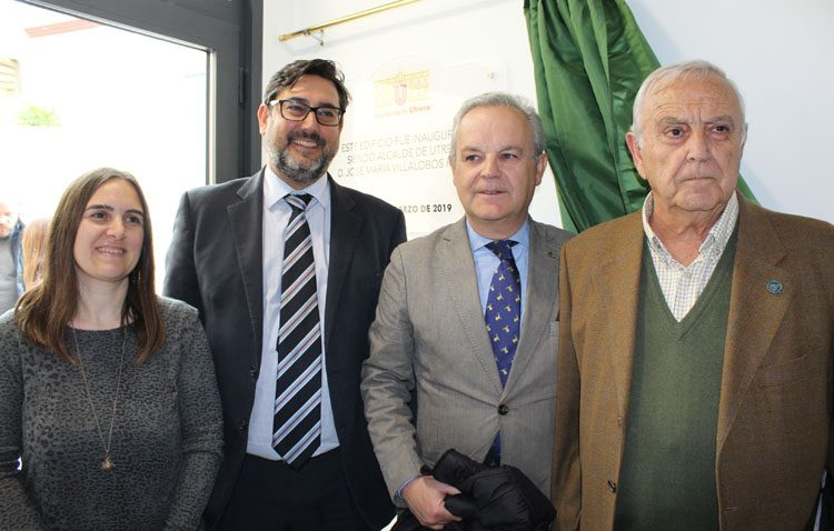 La barriada Olivareros estrena un edificio para las actividades de las personas mayores y el Aula de la Experiencia