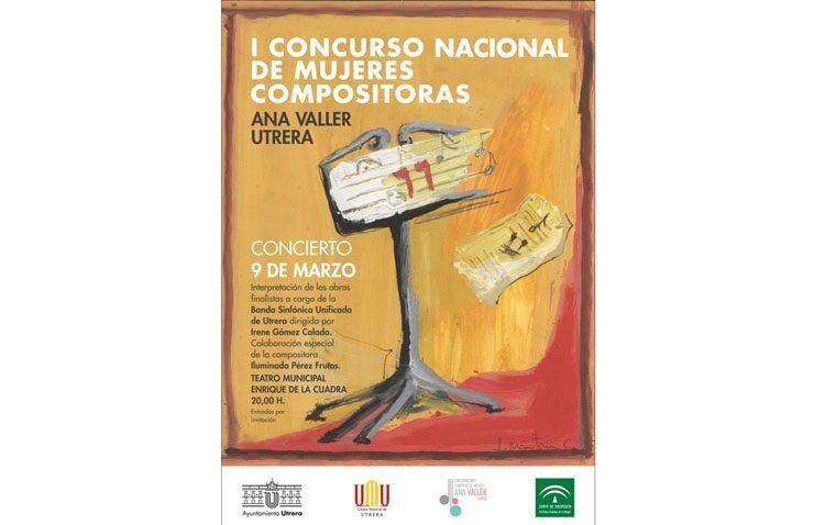 Un concierto en Utrera para elegir la obra ganadora del concurso de mujeres compositoras