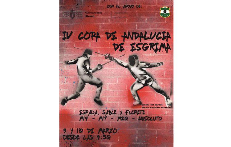 Utrera acoge la Copa de Andalucía de Esgrima