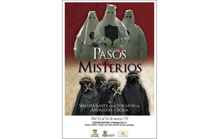 Llega a Utrera la exposición sobre la Semana Santa de Andalucía y de Sicilia