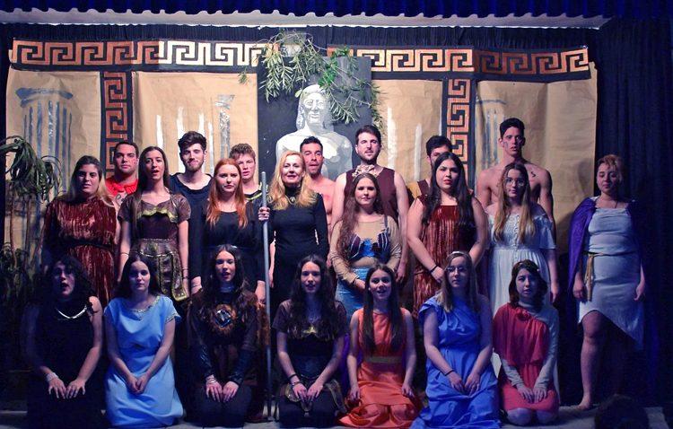 Talía Helena vuelve a escena con la obra «Mitos, dioses y héroes»