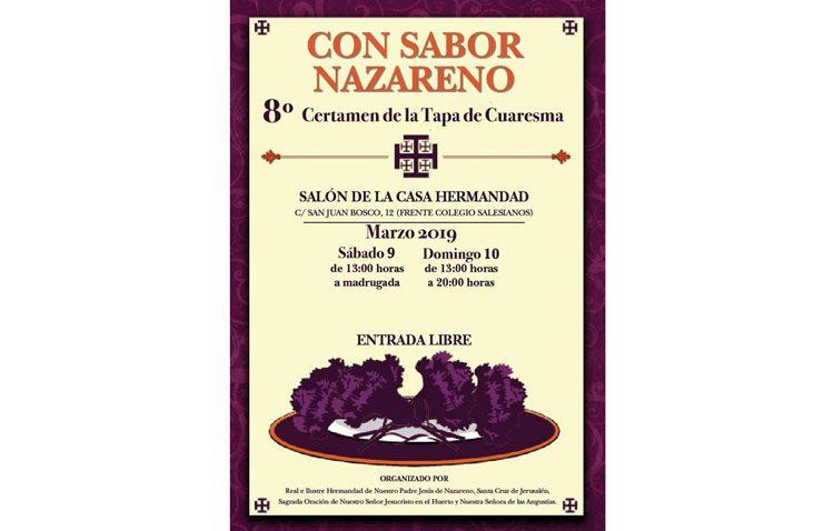 Regresa el certamen de la tapa de Cuaresma «Con sabor nazareno»
