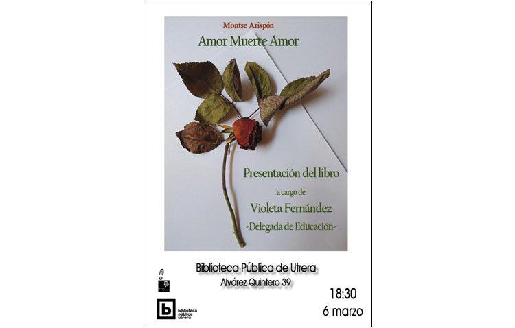 La utrerana Montse Arispón presenta su nuevo libro