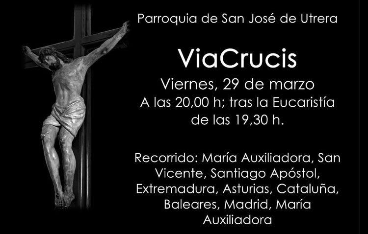 La parroquia de San José organiza un vía crucis por las calles de su feligresía