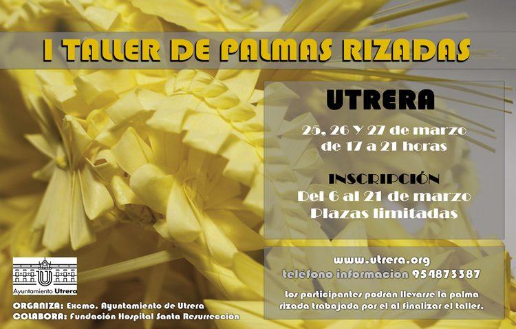 Un taller enseñará en Utrera a hacer palmas rizadas para Semana Santa