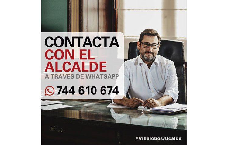 El alcalde de Utrera abre un canal en WhatsApp para conectar con los ciudadanos
