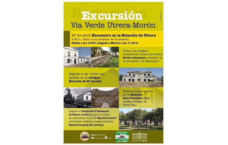 Acufer organiza una excursión por la vía verde Utrera-Morón
