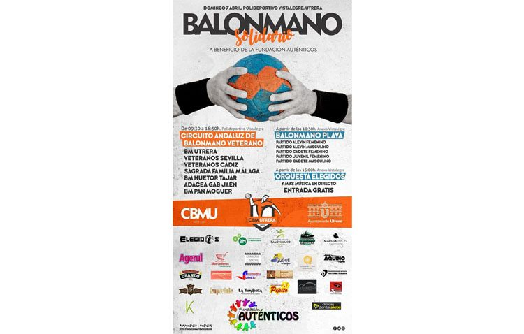 Los veteranos del Club Balonmano Utrera celebran el «I Circuito Andaluz de Balonmano»