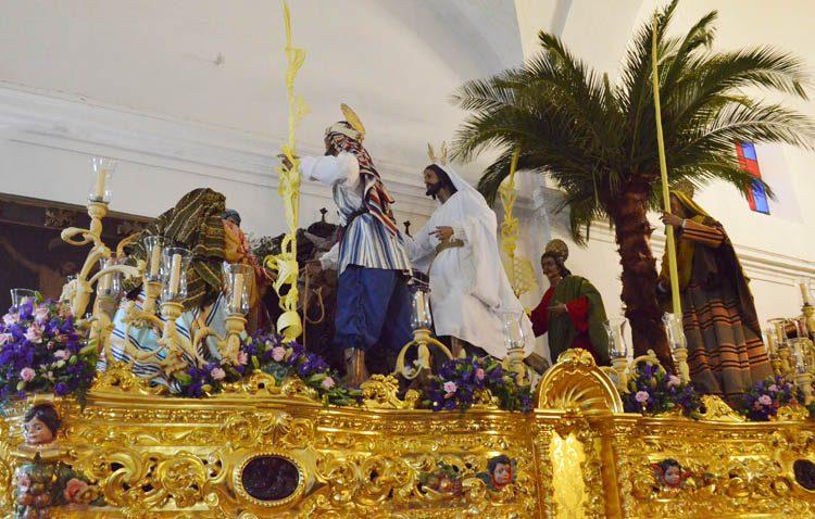 Tres procesiones para estrenar la Semana Santa en Utrera