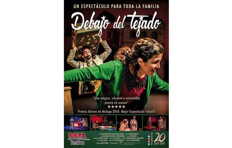 Teatro para toda la familia en Utrera con «Debajo del tejado»