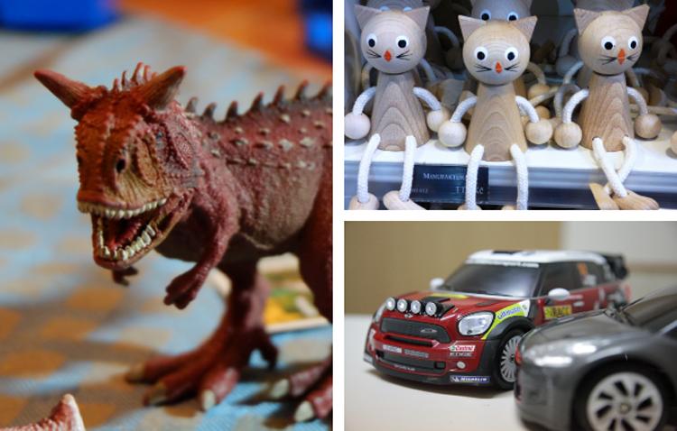 Los juguetes necesarios en cada etapa de los niños