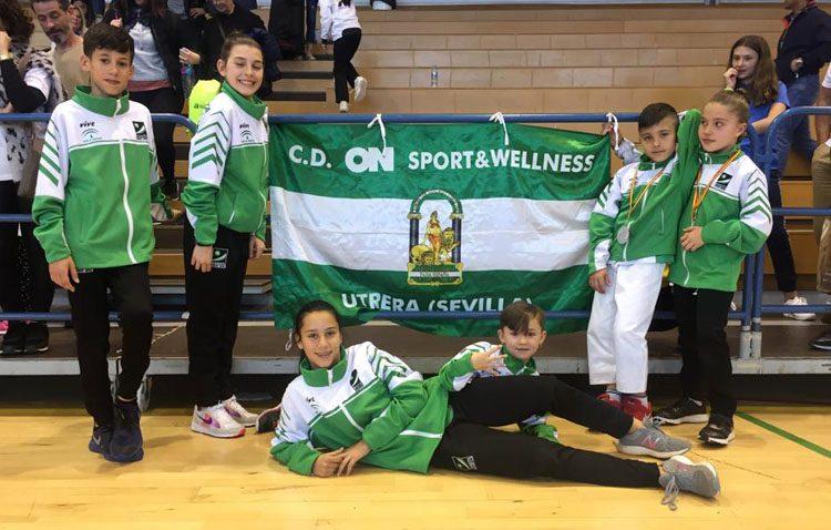 Éxito del kárate utrerano en el campeonato de España