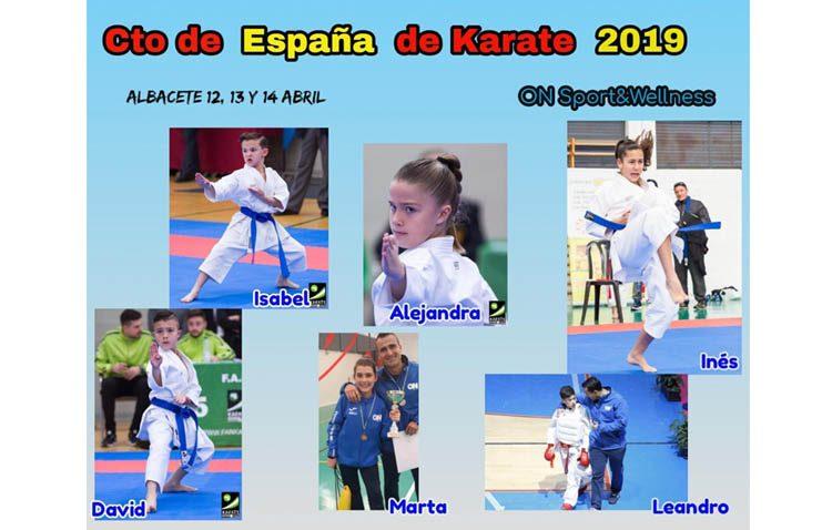 Siete karatekas utreranos representarán a Andalucía en el campeonato de España