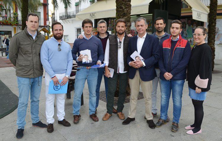 El PP defiende en Utrera «el futuro económico y la unidad de España» con el gobierno de Pablo Casado