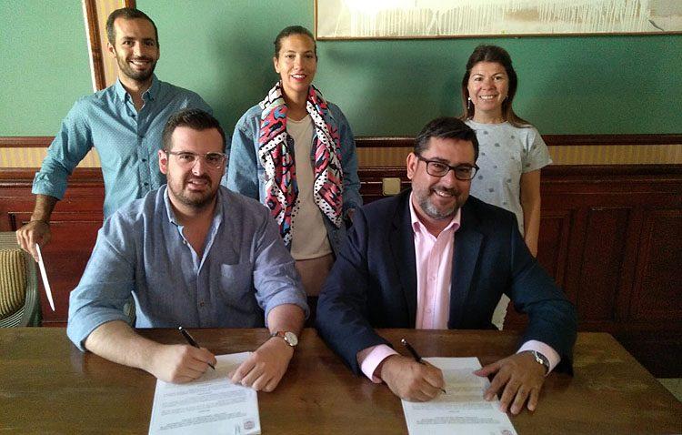 Aldaba renueva su convenio anual de colaboración con el Ayuntamiento para el proyecto «Oberti»