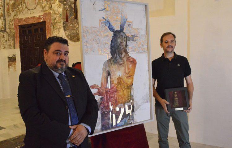 Un cartel cargado de historia para conmemorar el 125º aniversario de la fusión de las hermandades de la Vera-Cruz y Santo Entierro