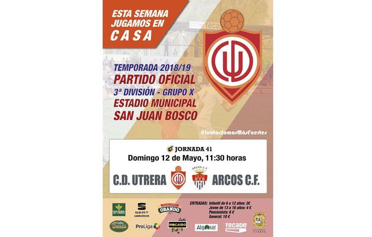 C.D. UTRERA – ARCOS C.F.: La victoria clave para amarrar el play off