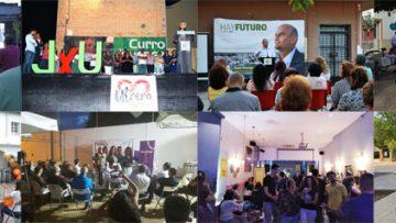 ELECCIONES 2019: Los partidos políticos echan el cierre en Utrera a su campaña electoral (VÍDEOS)