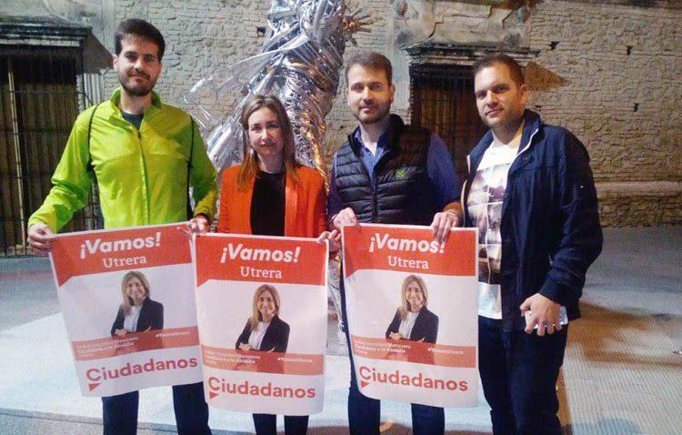 Ciudadanos propone la celebración de un debate electoral con los candidatos a la alcaldía de Utrera
