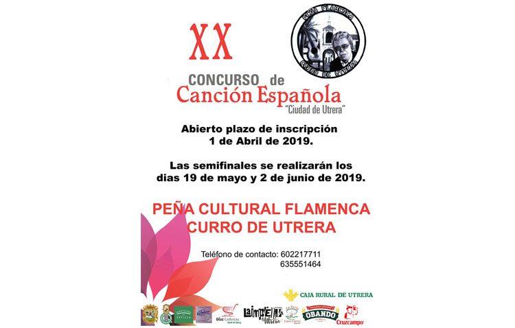 El concurso de canción española comienza su vigésima edición