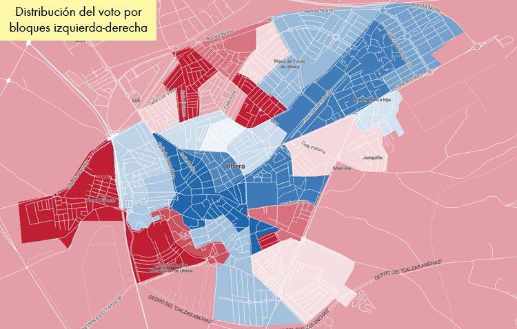 ¿Qué votó cada barrio de Utrera en las elecciones generales?