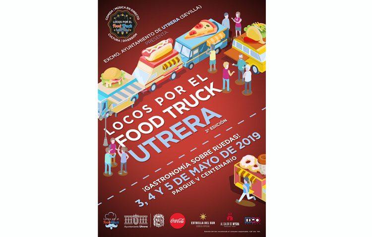 Gastronomía, música, actividades infantiles y repostería creativa se dan cita en Utrera en un evento «food truck»