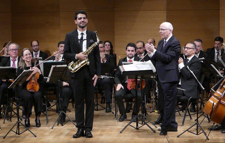 Un joven saxofonista utrerano que se hace hueco en Reino Unido