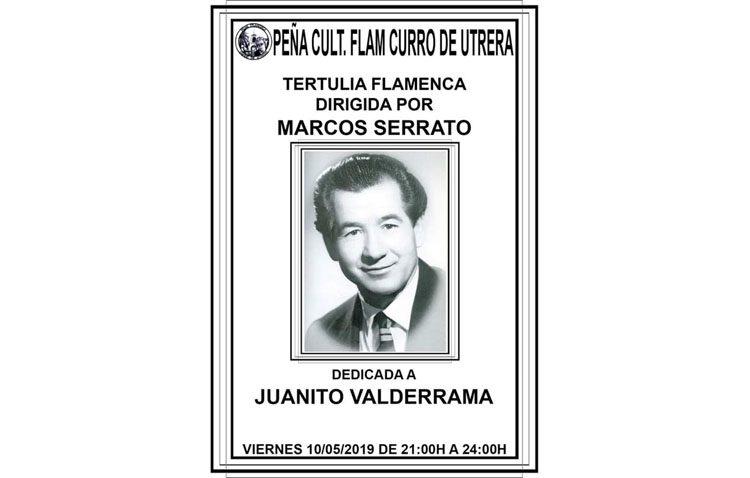 Una tertulia en la peña «Curro de Utrera» para hablar sobre Juanito Valderrama