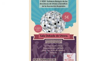 Un encuentro solidario este sábado para los nostálgicos de las discotecas de Utrera