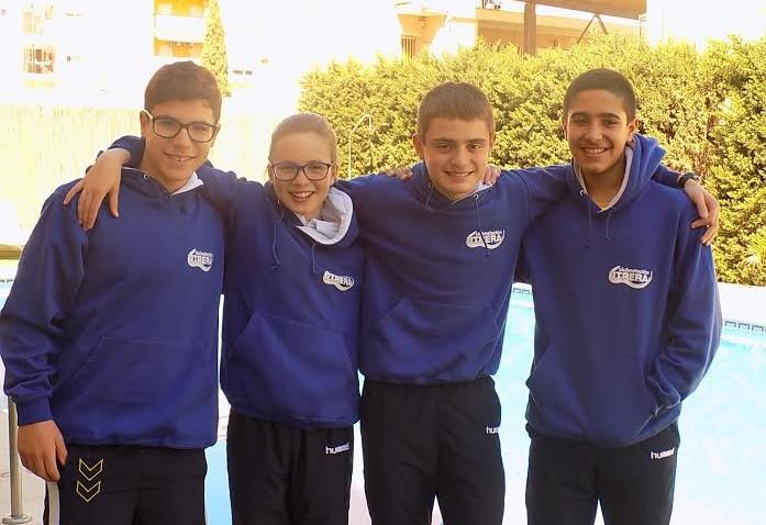 La nadadora utrerana Eloísa Payán estará en el Campeonato de España