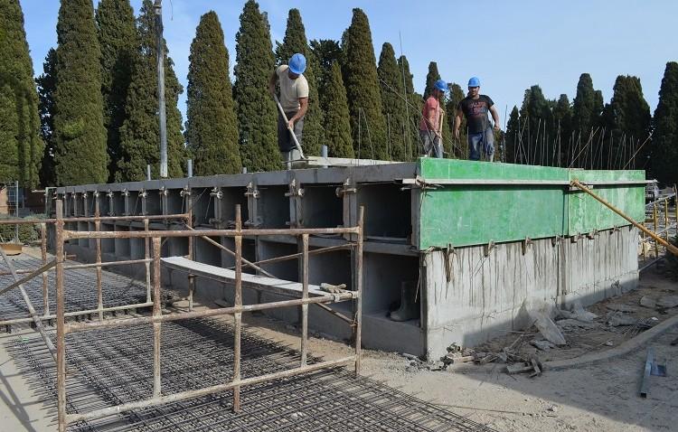 Casi 300 nuevos nichos, osarios y columbarios en el cementerio para suplir la falta de espacio