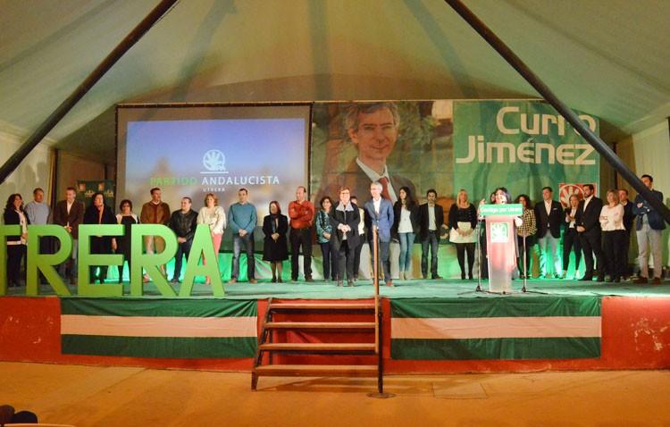 Multitudinaria presentación de la candidatura del PA a las elecciones municipales