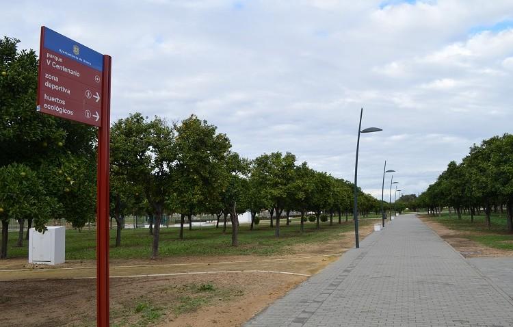 El parque del V Centenario contará con más servicios públicos