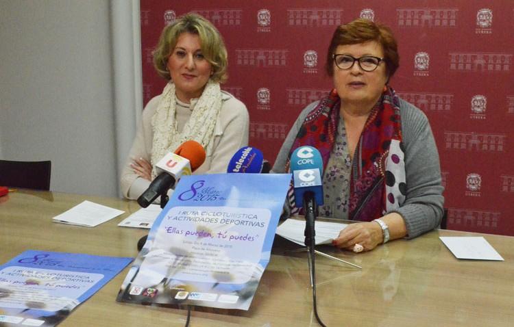 Una ruta cicloturística solidaria, entre el amplio programa deactividades por el Día de la Mujer