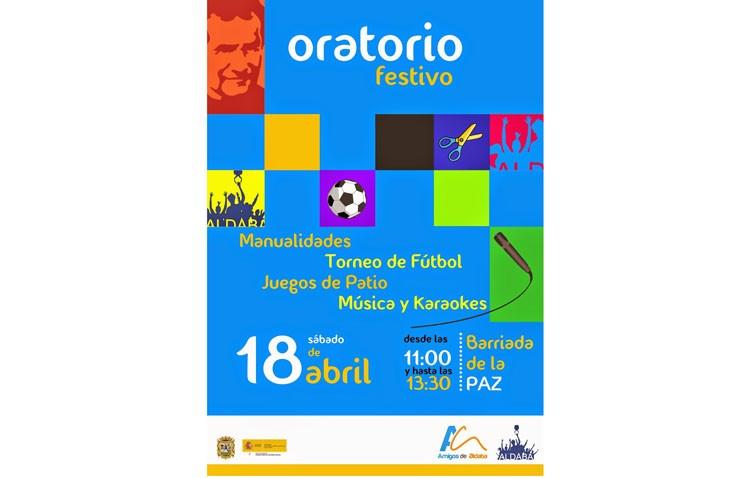 Multitud de actividades en el oratorio festivo programado por Aldaba en la barriada La Paz
