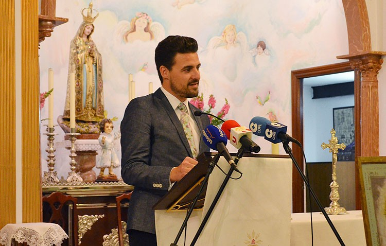 Antonio Manuel Romero pronunciará el domingo el pregón de las glorias