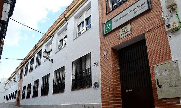 Adjudicada la ampliación del colegio Rodrigo Caro, por casi 225.000 euros