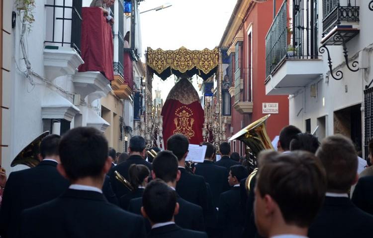 El espíritu salesiano inundará las calles de Utrera este Martes Santo con la hermandad de los Estudiantes